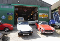 Mathewsons Thornton le Dale (Tui_Cruise) Tags: mathewsons auction garage carsforsale yorkshire