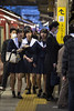 The other side (epelletier2024) Tags: school girl japan train station aichi nikkor 135mm ais