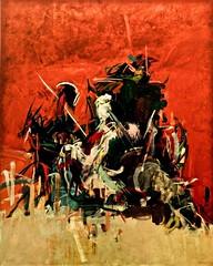 Mojiganga (according to Goya) (1963) - Julio Pomar (1926) (pedrosimoes7) Tags: juliopomar artgalleryandmuseums centrodeartemanueldebrito camb paláciodosanjos algés portugal ✩ecoledesbeauxarts✩