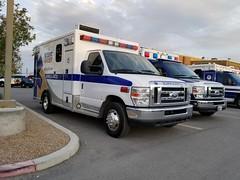 Medicwest Ambulance with new logo and paint sceme. (Summerlin540) Tags: amr americanmedicalresponse lasvegas nevada clarkcounty desert emergencia emergency medical emt ems paramedic vegasstrong ford led