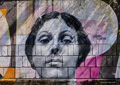 Opatijski portreti poznatih - Isadora Duncan (MountMan Photo) Tags: opatija liburnia primorskogoranska croatia mural painting portret portrait isadoraduncan