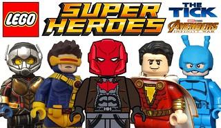 More Amazing Lego Superheroes Custom Minifigures !!!