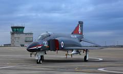 Navy Phantom (Treflyn) Tags: dusk royal navy mcdonnell douglas f4k fg1 f4 phantom ii xv586 010 r rnas yeovilton threshold aero shoot