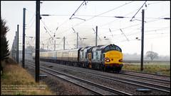 37259 & 37607 - Easter Chieftan (Mark's Train pictures) Tags: 37259 37607 directrailservices passengertrain class37 124h pathfinderrailtours railtour ecml eastcoastmainline easterchieftan drs
