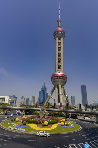 东方明珠Oriental Pearl Radio Tower
