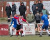John Cunningham finds the gap and heads for the box (Stevie Doogan) Tags: clydebank gartcairn west scotland cup round 2 holm park saturday 31st march 2018