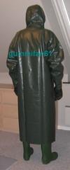 3 (gummifan61) Tags: rainwear rubber raingear gasmaske bondage