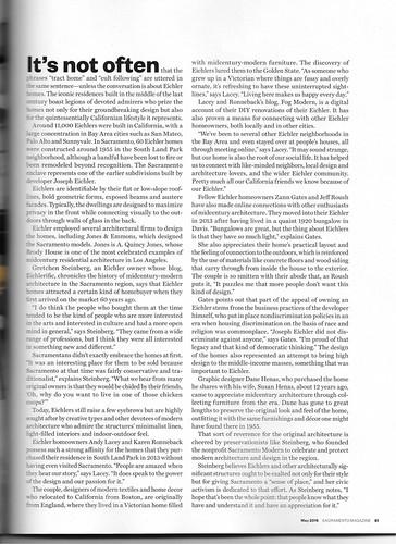 Sacramento Magazine, May 2016: Eichler Fever - Page 81