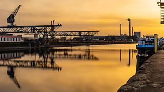 Harbor sunset | SONY ⍺7III & Sigma 1.4/50 Art on Sigma MC-11