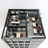 Corporate Plaza - Office Floor (wooootles) Tags: lego moc modular legomoc legomodular skyscraper legoskyscraper building legobuilding office legooffice architecture legoarchitecture city legocity town