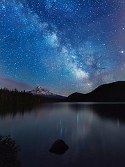 Milky Way over Lost Lake. ( Mt Hood NF, OR) (Sveta Imnadze) Tags: nature night stars nightsky milkyway mthood lastlake oregon