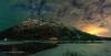 Pioneer Peak Magic (Traylor Photography) Tags: alaska spring landscape butte stars pioneerpeak northernlights anchorage panorama knikriver d810d oldglennhighway palmer unitedstates us
