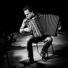 l'accordéoniste (jemazzia) Tags: musique music musica musiek musik musicien instrument accordéon monochrome blackandwhite noiretblanc