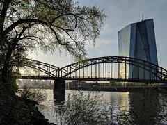 Frankfurt European Central Bank (Aviller71) Tags: frankfurt skyscrapers skyline europeancentralbank architecture architektur