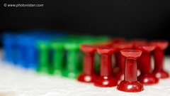 RGB & BW - Office Pins #macromondays #HMM #Plastic (Photonistan) Tags: macromondays plastic pin officepin photonistan rgb red green blue dof depthoffield 3inch nikkor nikon 40mm hmm blackandwhite bw black white painting painter artist explorecolor