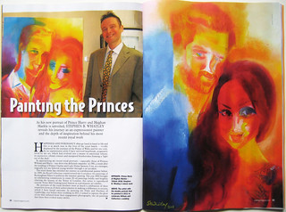 Stephen B Whatley 3-page feature in MAJESTY magazine. May 2018