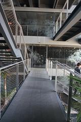2018-04-FL-183530 (acme london) Tags: barcelona bridges corridor fira hotel jeannouvel landscape planting renaissancehotelfira spain stairs