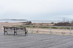DSC_0717 (danirose4899) Tags: beach bench jetty ocean boardwalk