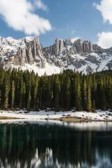Lago di Carezza (lu_ro) Tags: lago lake carezza trentino alto adige braies dolomiti dolomits long exposure cloudporn waterporn sony a7 35mm zeiss manfrotto nd1000 hoya