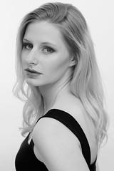 Tamara - Studio Shoot (B&W) (bonavistask8er) Tags: nikon d7100 model portrait beauty headshot fashion bw black white monochrome studio strobist sb910 testing testshoot