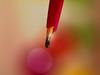 A Fountain pen (Tomo M) Tags: backintheday macromondays liquid macro pen antique vintage light bokeh ink