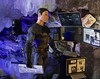 Bruce Investigates (MaxxieJames) Tags: batman bruce wayne cave barbie ken mattel doll dc dcu justice league ben affleck diorama catwoman