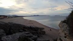 Sunset over the beach at Pals (Christian_TF) Tags: platjadelracó pals beach