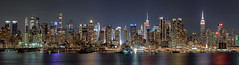 The Night Shift (Gary Walters) Tags: night weehawken gary walters buildings cityscape lights empire state building longexposure nyc a7r ii midtown newjersey nj nightscape skyline a7r2 sony a7rii empirestatebuilding garywalters