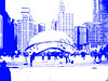 filters on bean (army.arch) Tags: chicago illinois il bean cloudgate thebean filter