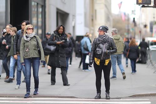 People on 5th Avenue.