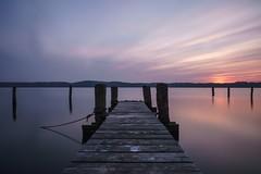 silence (DerSchneeEngel) Tags: wasser strand see meer himmel brücke pier sonnenaufgang sonnenuntergang urlaub fototour gehweg