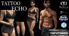 TOP STRIKER - ECHO TATTOO (Top Striker) Tags: roymildor topstriker omega tattoo echo unisex signature