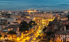 Rome City at Night (dotravel) Tags: rometours rome colosseumtickets colosseum travel travelling dotravel europetravel attraction holidays italytours italytourism italy visit