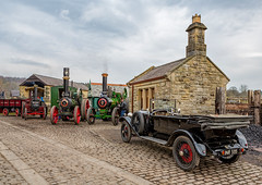 Beamish Museum 'Great War Steam Fair' 6-4-2018 (KS Railway Gallery) Tags: beamish museum great war steam fair goods yard
