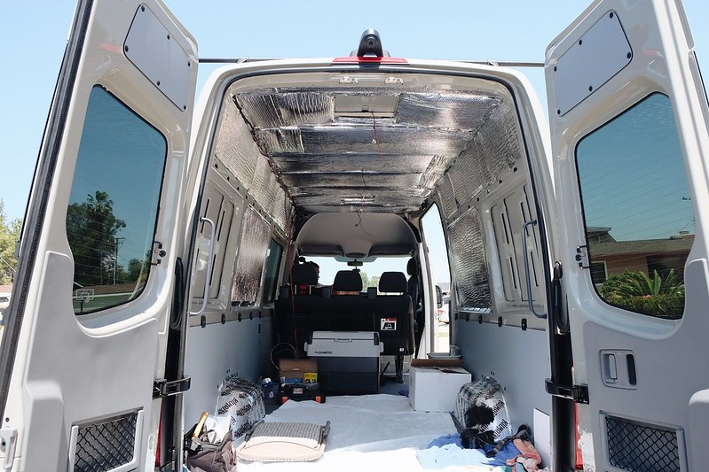 Sprinter Van Build Day 8 041418