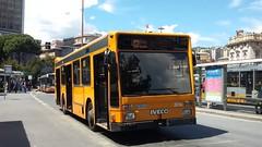 AMT 3814 (Lu_Pi) Tags: amt genova autobus bus iveco iveco490 turbocity turbocityur brignole ospedalesanmartino amtgenovalinea43 albaro