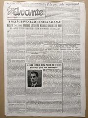 """Jornal """"O Avante"""" Ano 28, Nº 274 (ACMateus) Tags: antiguidades coleccionismo velharias jornal"""