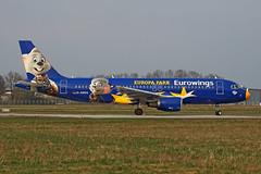 Airbus A320-214 - D-ABDQ - HAJ - 11.04.2018 (Matthias Schichta) Tags: hannoverälangenhagen haj eddv airport planespotting aircraft eurowings airbus a320200 dabdq europapark