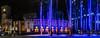 san jose museam of art (pbo31) Tags: boury pbo31 2018 d810 color april nikon california bayarea spring sanjose southbay santaclaracounty city urban siliconvalley night dark black panoramic large stitched panorama sanjosemuseumofart plaza palm trees purple park downtown sculpture art modern contemporary