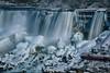 Wintery Falls (lfeng1014) Tags: winteryfalls americanfalls bridalveilfalls niagarafalls frozen snow wintry landscape leefilters canon5dmarkiii 2470mmf28lii 025seconds winter waterfalls rocks lifeng winterwonderland