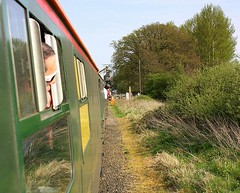 End of the Branch at Middleton Towers (Chris Baines) Tags: hastings demu middleton towers west norfolk wanderer railtour