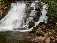 Indian Creek Falls (MacDonald_Photo) Tags: jamieamacdonald sl33stak zd lightroom oly olympus zuiko eatonrapids michigan getolympus omd omdem1mkii μ43photography μ43 em1mkii omdem1markii 12100mm 12100mmf4 mzuiko12100mmf4pro nisi nisifilters nisi6stopndfilter greatsmokymountainnationalpark gsmnp smokymountains tennessee indiancreekfalls waterfall longexposure