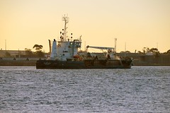 800_5610 (Lox Pix) Tags: newcastle stockton 2018 nsw australia architecture cityscape ferry ship dredge nuevafortuna davidallan sunset beach loxpix church building nobbys nobbyslighthouse