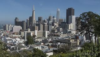 San Francisco from Russian Hill b20021n