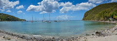... anchored ... (wolli s) Tags: caribbean deshaies guadeloupe panorama basseterre gp nikon d7100 stitched