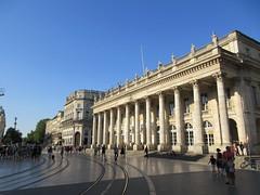 Grand-Théâtre and Place de la Comédie, Bordeaux, France (Paul McClure DC) Tags: bordeaux france gironde nouvelleaquitaine july2017 historic architecture