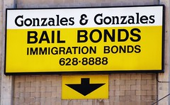 LA Downtown Connector - Gonzales & Gonzales Bail Bonds (ramalama_22) Tags: la los angeles downtown regional connector alameda street metro rail first trench excavation bail immigration bond federal court detention center