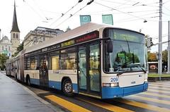 Luzern, Schweizerhofquai 08.08.2017 (The STB) Tags: dieschweiz switzerland bus busse autobus autobús publictransport citytransport öpnv trolleybus obus oberleitungsbus trolebús