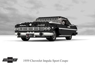 Chevrolet 1959 Impala Sport Coupe