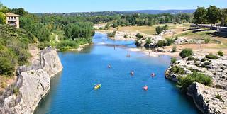 Summer on the River Garde, France